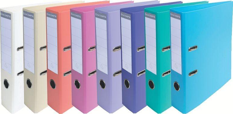 Bürobedarf ordner  Ordner 5cm Rücken Premium Kunststoff-Ordner farbig PVC Bürobedarf ...